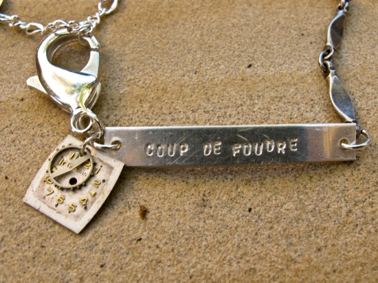 """Coup de Foudre"" bracelet (""Love at First Sight"")"